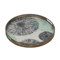 Notre Monde Umbrellas Glass Tray
