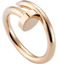 Cartier Juste Un Clou 18Ct Pink Gold Ring