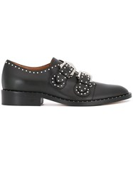 Givenchy Studded Buckled Shoes Black