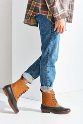 Bass Daisy Duck Boot Brown Multi