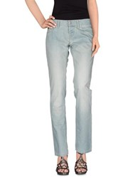John Richmond Denim Denim Trousers Women Blue