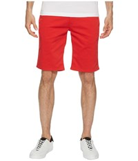 Tommy Jeans Freddy Straight Fit Shorts Racing Red