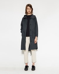 Mhl By Margaret Howell Fishtail Parka Charcoal