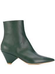 Christian Wijnants Ainchi Ankle Boots Green