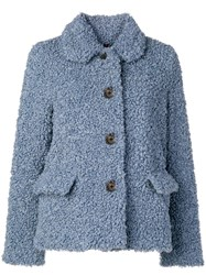 Paul Smith Ps By Teddy Jacket Blue