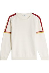 Closed Cotton Pullover Multicolored