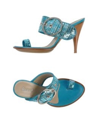 Rocco P. Sandals Turquoise