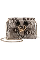 J.W.Anderson Pierce Mini Python Shoulder Bag Snake Print