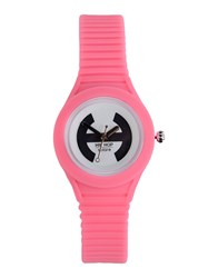 Hip Hop Wrist Watches Pink