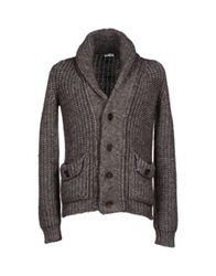 Gold Case By Rocco Fraioli Cardigans Dove Grey