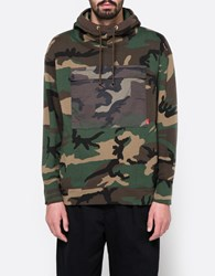 Wtaps Vdt Hooded Sweatshirt Woodland Camo