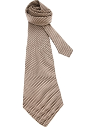 Christian Dior Vintage Logo Tie Nude And Neutrals