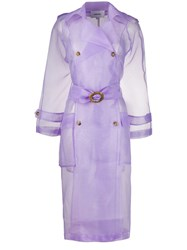 Nanushka Sheer Belted Trench Coat 60
