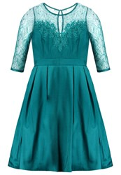 Little Mistress Curvy Cocktail Dress Party Dress Turquoise