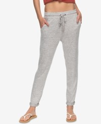 Roxy Juniors' Cozy Chill Soft Jogger Pants Heather Grey