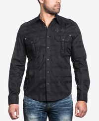 Affliction Men's Keep Cruising Woven Shirt Black