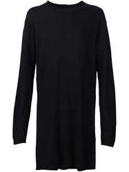 Rick Owens Oversized Jumper Black