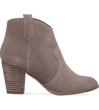 Miss Kg Sade Zip Up Ankle Boots Taupe