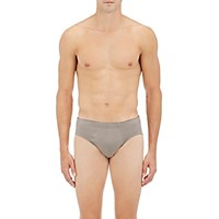 Hanro Men's Cotton Superior Cotton Briefs Grey