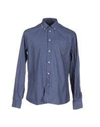 Siviglia Shirts Shirts Men Dark Blue