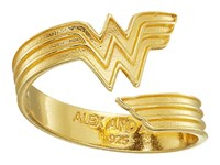 Alex And Ani Wonder Woman Ring Wrap 14K Gold Plated Ring