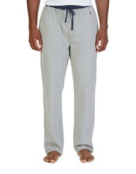 Nautica Big And Tall Knit Lounge Pants Grey