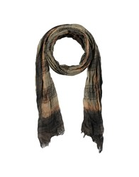 John Varvatos Oblong Scarves Military Green