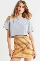 Urban Outfitters Today Is Yours Cropped Tee Grey