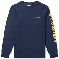 Columbia Long Sleeve North Cascades Tee Blue