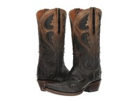 Lucchese Gemma Ombre Pearl W Studs Women's Shoes Brown