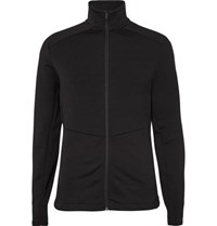 Peak Performance Helo Fleece Back Jersey Jacket Black