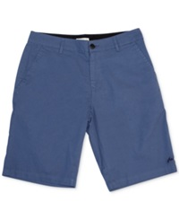Rusty Solid Bel Air Shorts Coastal Blue