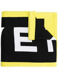 Givenchy 4G Knitted Scarf Black
