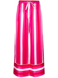 Maggie Marilyn Striped Palazzo Trousers Pink