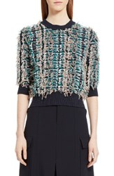 Chloe Women's Fringe Knit Sweater