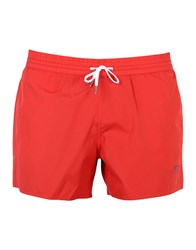 Guess Beach Shorts And Pants Red