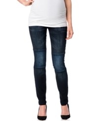 Motherhood Indigo Rein Maternity Skinny Jeans Dark Wash