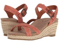Taos Hey Jute Burnt Orange Women's Shoes