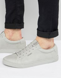 Jack And Jones Sable Trainers Grey White