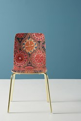 Anthropologie Merida Tamsin Dining Chair Light Red