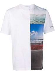 Calvin Klein Jeans Photo Print T Shirt White