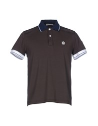 Cooperativa Pescatori Posillipo Polo Shirts Dark Brown