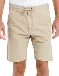 Bench Cotton Shorts With Drawcord Natural