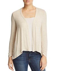 B Collection By Bobeau Drake High Low Cardigan Oatmeal