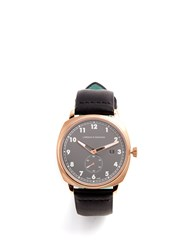 Larsson And Jennings Mk I Pilot Stainless Steel Leather Watch Pink Gold