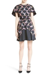 Ted Baker Women's London Vianna Cape Sleeve Dress