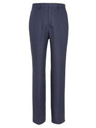 Chester Barrie Tapered Fit Tailored Trousers Navy
