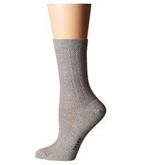 Falke Amore Ankle Light Grey Women's Crew Cut Socks Shoes Gray