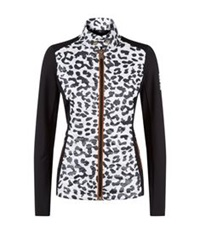 Bogner Midlayer Leopard Jacket Black