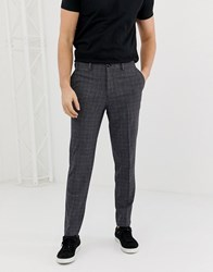 Selected Homme Tapered Fit Smart Trouser Grey